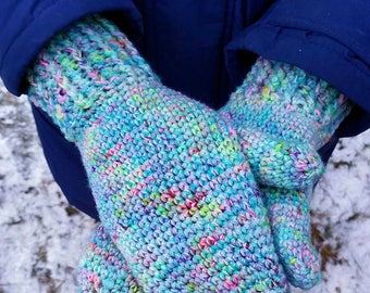 Vettlingar / Mittens- crochet pattern