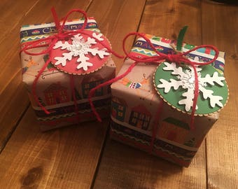 Ornament Gift Wrapping