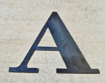 Metal Letters 18 inch Industrial Metal Letter