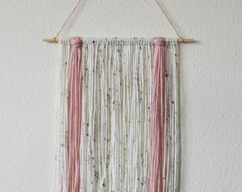 Modern Yarn Wall Hanging - Home - Nursery