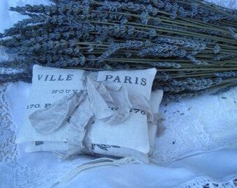 French Lavender Sachets, 36 French lavender wedding favors, guest favors, bridal shower favors, Paris wedding, French Farmhouse wedding
