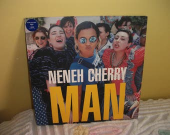 Neneh Cherry Man Vinyl Record Album NEAR MINT condition