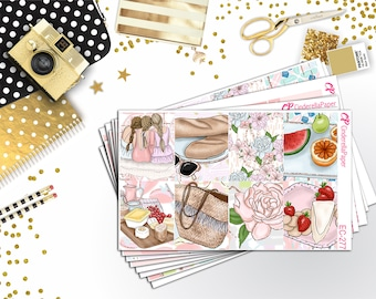 Park Picnic Full Kit || Erin Condren Vertical || 8 Sheets || EC-277