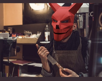 Make your own Devil 2.0 Mask