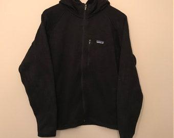 Vintage PATAGONIA - Black Hooded Sweater - Large