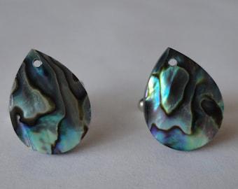 Paua Shell Cufflinks