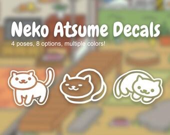 Neko Atsume Decals