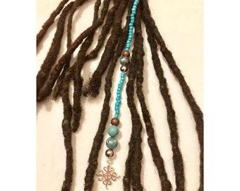 Dangle Bead Loc Jewelry Dreadlock #5