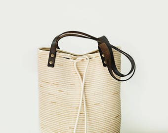 Eva big rope shoulder bag - custom made