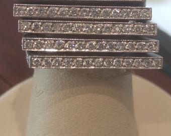 Original design Handmade Diamond Ring