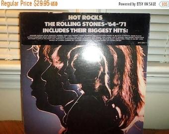 Vintage 1971 LP Record The Rolling Stones Hot Rocks 1964-1971 Two LP Set Excellent Condition 13047