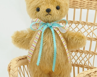 Mohair Stuffed Teddy Bear pdf Sewing Pattern – Easy Teddy– Bingle Bears by Cheryl Hutchinson – instant download