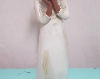 Gempoware Clay Figurine