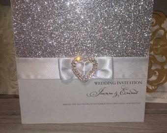 Gillian wedding invitation