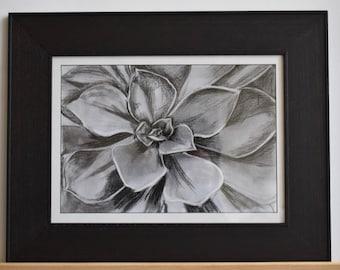 Original Charcoal Flower