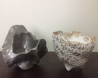 2 Medium Pinch Pots