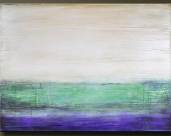 Sandstone 2- 48 x 36 - Huge Abstract Acrylic Painting - Contemporary Wall Art - Highly Textured