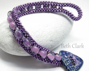 Pretty purple CRAW wrap bracelet