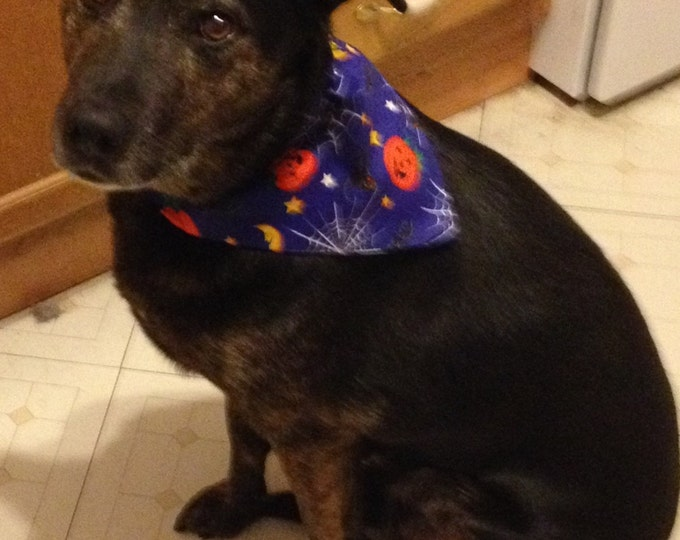 Halloween Scray Cats Dog bandanas