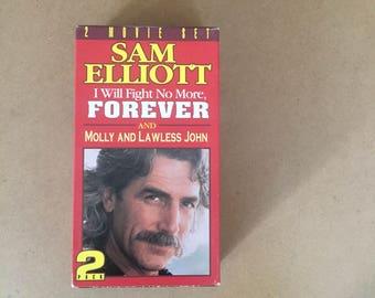 Sam Elliott: I Will Fight No More,Forever ( VHS 2 Movie Box Set)