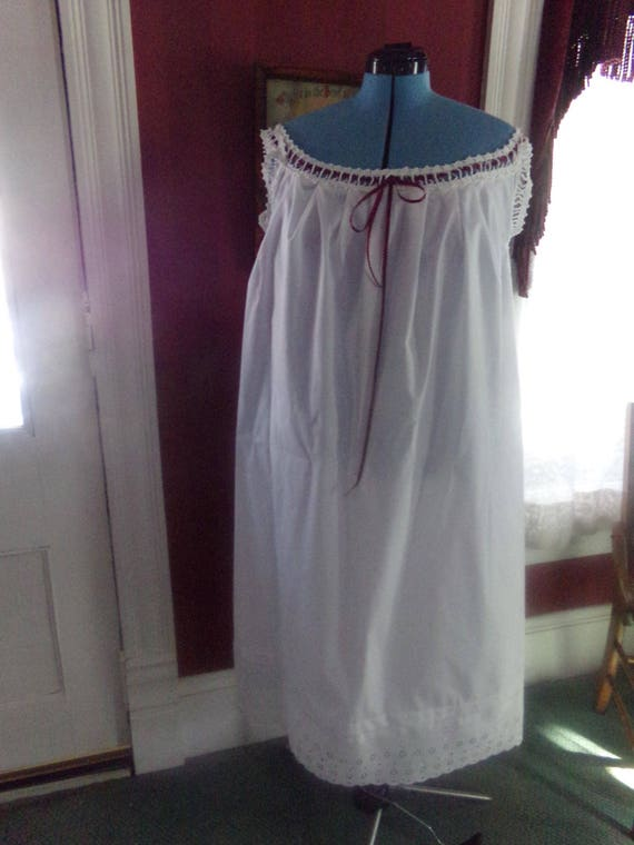 Victorian Lingerie – Underwear, Petticoat, Bloomers, Chemise Victorian Attire Civil War CHEMISE Your Size Custom Order Repro Costume NewVictorian Attire Civil War CHEMISE Your Size Custom Order Repro Costume New $49.00 AT vintagedancer.com