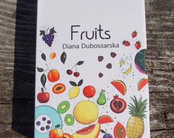 Flash cards for kids fruits first words