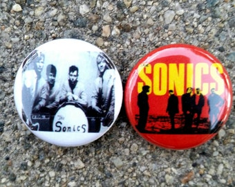 The Sonics 1 inch pins