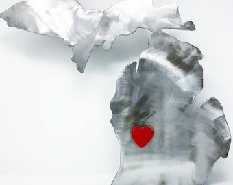 """Michigan Metal """"Home is Where Your Heart is"""""""