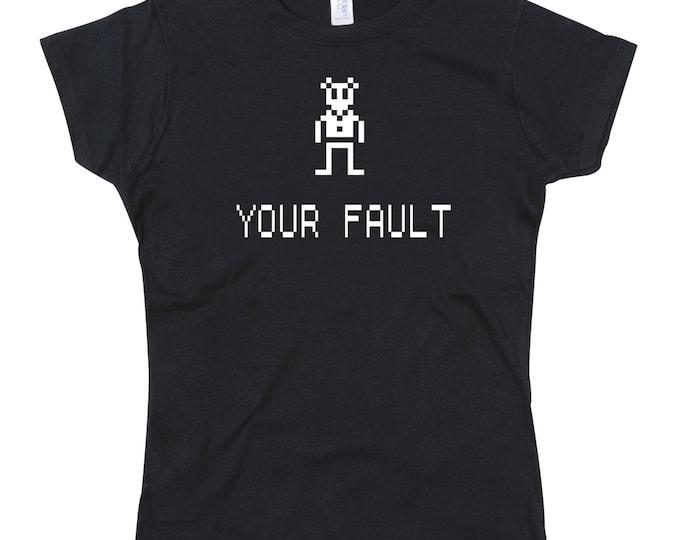 Ladies Vinnie the Vole Existential Crisis Tshirt