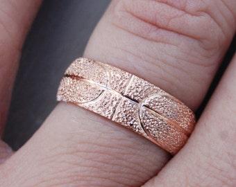 Manly wedding ring Etsy
