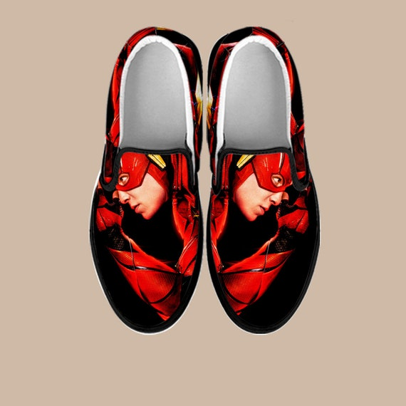 Superhero Infinity Captain Batman Avengers Shoes Flash Slip War on Custom Custom Slip America Flash On Marvel Slip Shoes The Vans on 7TZdqZwx4