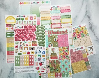 Getaway Weekly Vertical kit for the Erin Condren, Happy Planner & More
