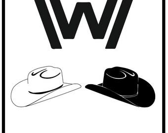 Westworld Minimalist Poster