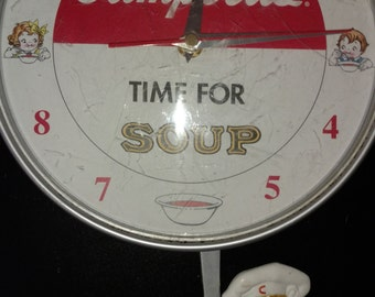 Csmpbell's Soup !00th Anniversary clock