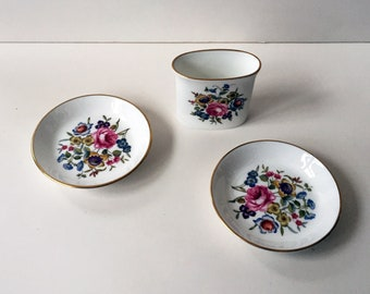 Royal Worcester Toothpick Cup and Saucers
