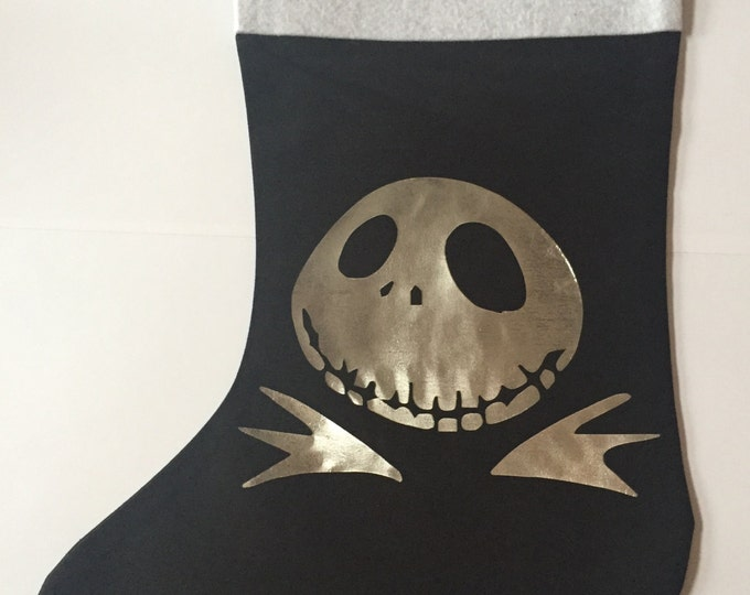 Jack Skellington Holiday Stocking