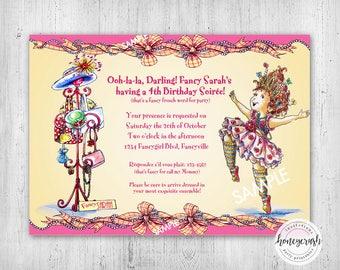 Fabulous Fancy nancy party   Etsy WT37