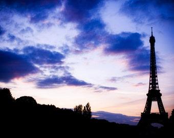 Sunset Eiffel Tower 2