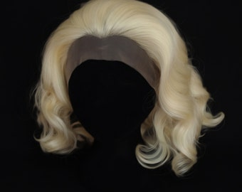 Short Blonde lace front wig