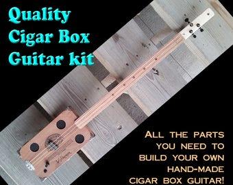 CIGAR BOX GUITAR Kit -- All the parts you need!