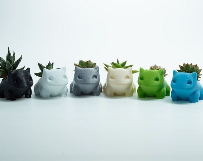 3D Printed Bulbasaur Planter / Flower Pot