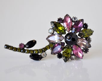 Vintage Alice Caviness Flower Brooch