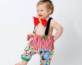 Boys Circus Outfit Baby Clown Costume 1st Birthday Baby Boys clothing Carnival Photo Prop Boys Circus Birthday/MYSWEETCHICKAPEA  sc 1 st  Etsy & Boys Clown Costume 1st Birthday Baby Boys clothing Carnival