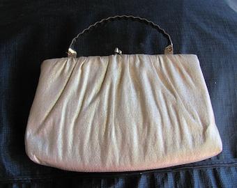 Vintage ML Gold Evening Bag