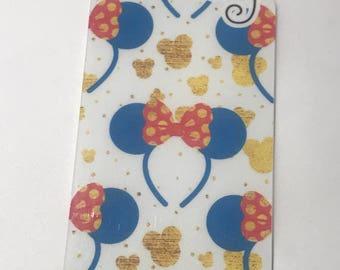 Glitter & Ears Bookmark