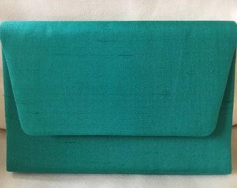 Laurel Burch silk clutch