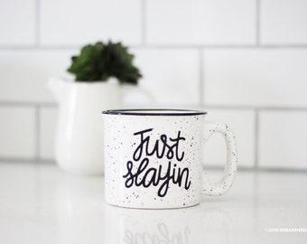 Just Slayin' 15oz Stoneware Mug