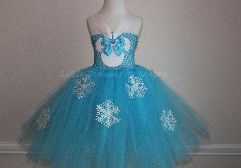 Vestidos de fiesta para ninas de frozen