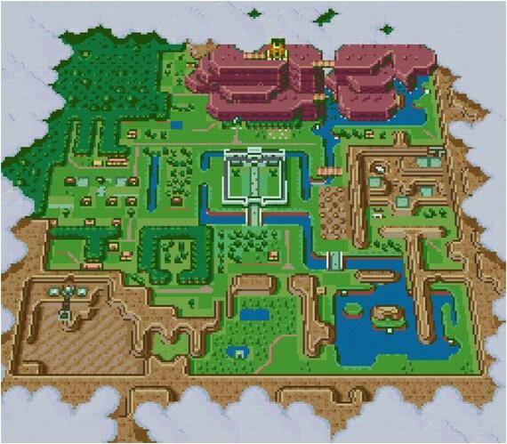 Hyrule light world map cross stitch pattern pdf hyrule light world map cross stitch pattern pdf gumiabroncs Choice Image