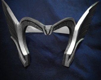 Lady Thor Tiara Cosplay Headpieces Gold Horns Fantasy Costume